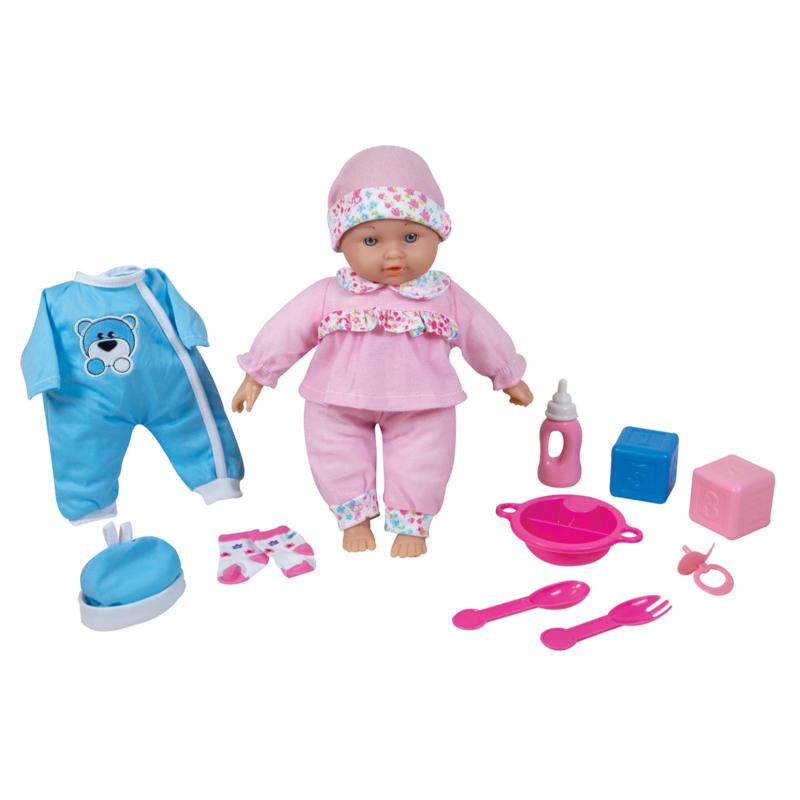 Lissi Doll 10-piece Talking Baby Set