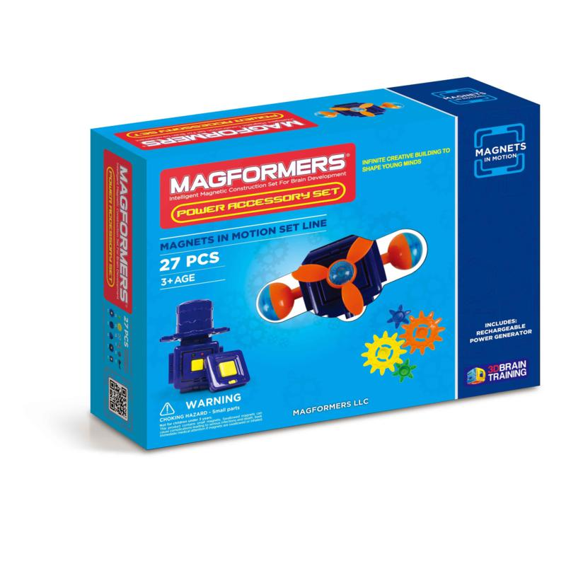 Magformers Magnets in Motion Power Accessory 27-piece Set
