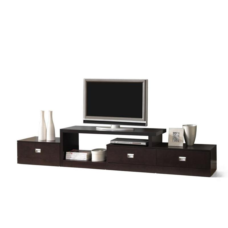 Marconi Brown Asymmetrical Modern Tv Stand 7092204 Hsn