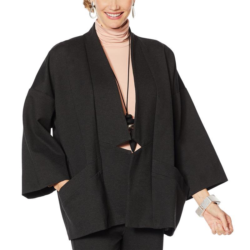 MarlWynne Notch Collar Jacket