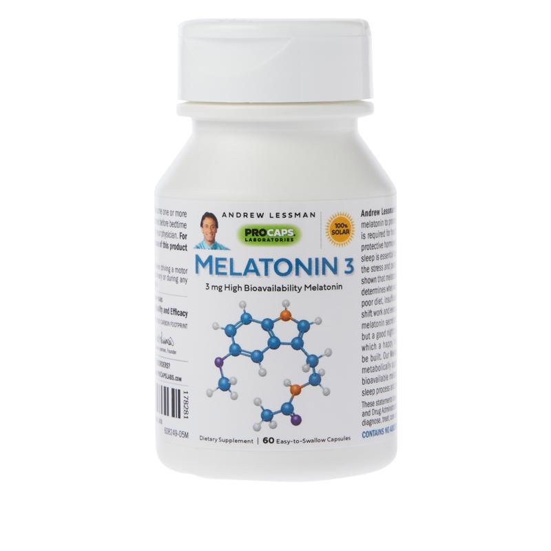 Melatonin-3 - 60 Capsules