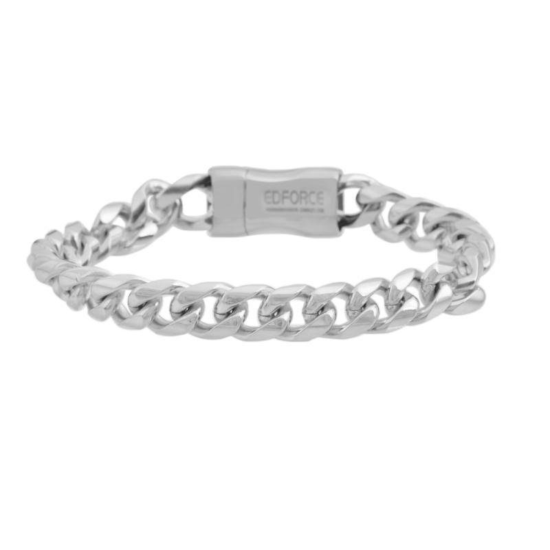 Men's Stainless Steel Cuban Link Chain Bracelet