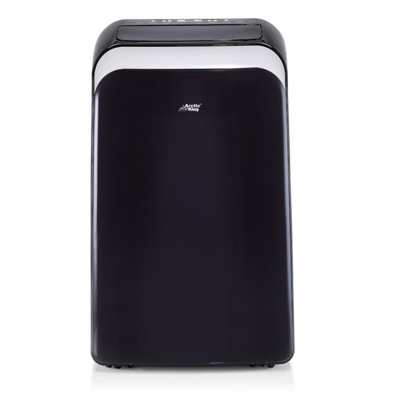 Midea 14,000 BTU Portable Air Conditioner and Heater - Black
