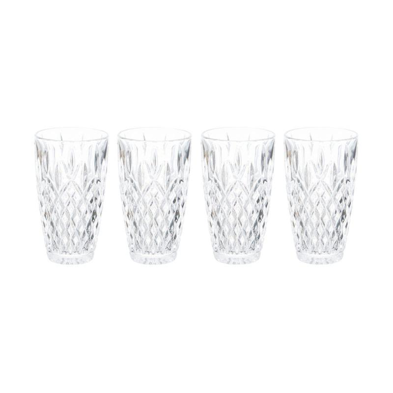 Mikasa Harding Highball Glass Set of 4