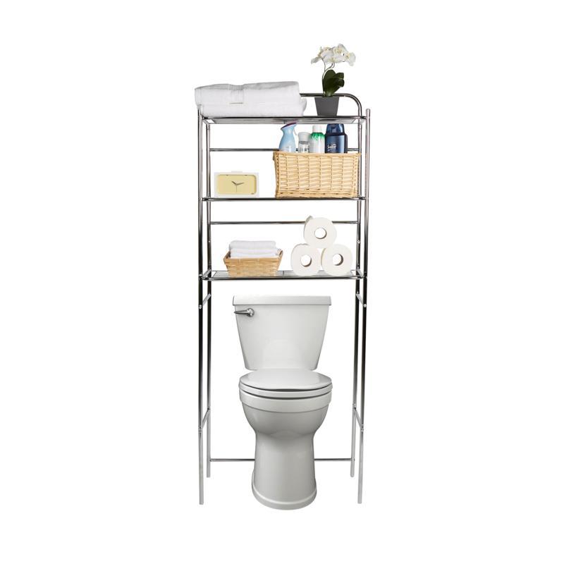 Mind Reader 3-Tier Over the Toilet Bathroom Organizer