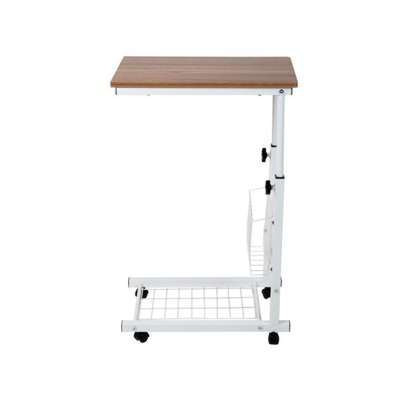 Mind Reader Adjustable Height Side Table with Shelf