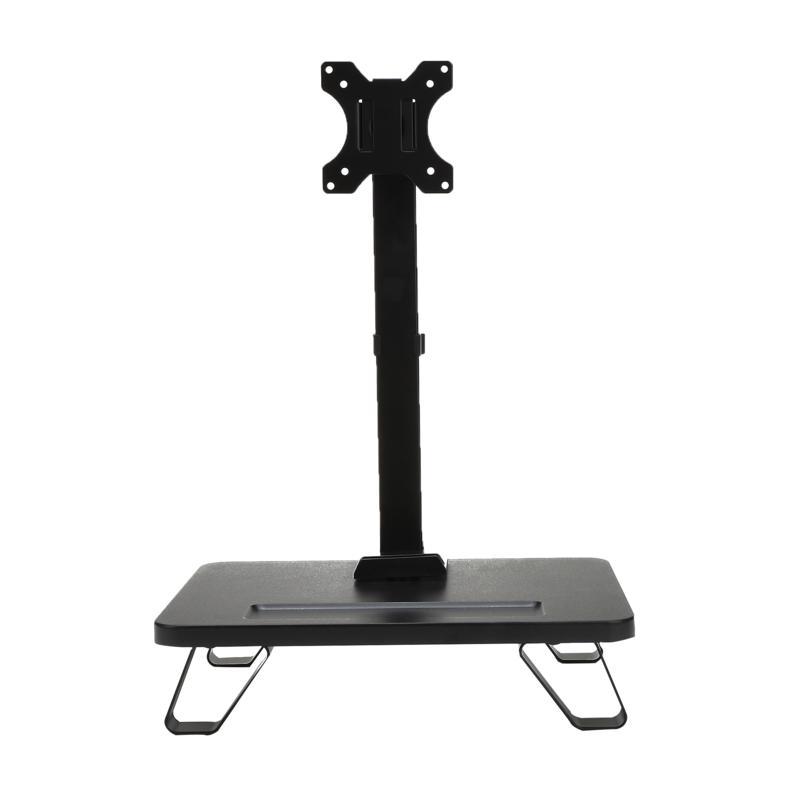 Mind Reader Single LCD Monitor Desk Mount Adjustable Tilt Stand