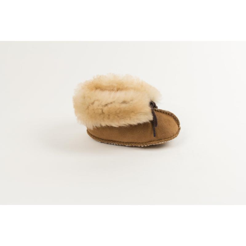 Minnetonka Infant's Sheepskin Ankle Bootie