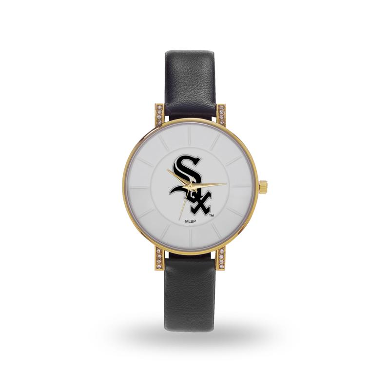 "MLB Sparo ""Lunar"" Strap Watch - White Sox"