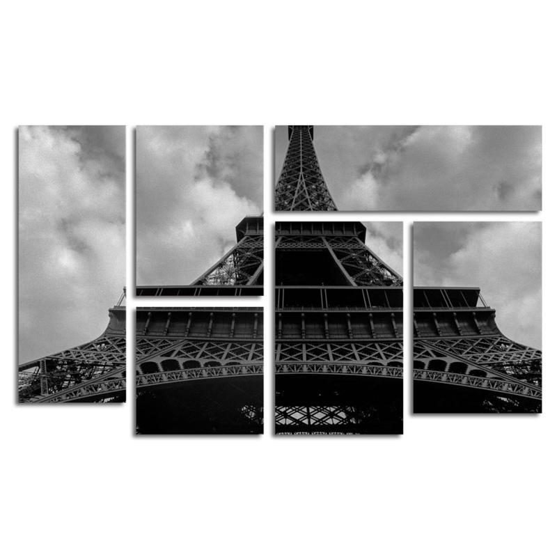 Moises Levy 'Eiffel I ' Multi-Panel Art Set