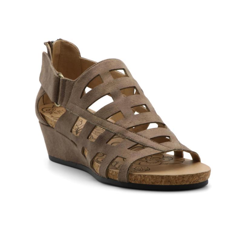 Mootsie Tootsies Tegan Leather Caged Wedge Sandal