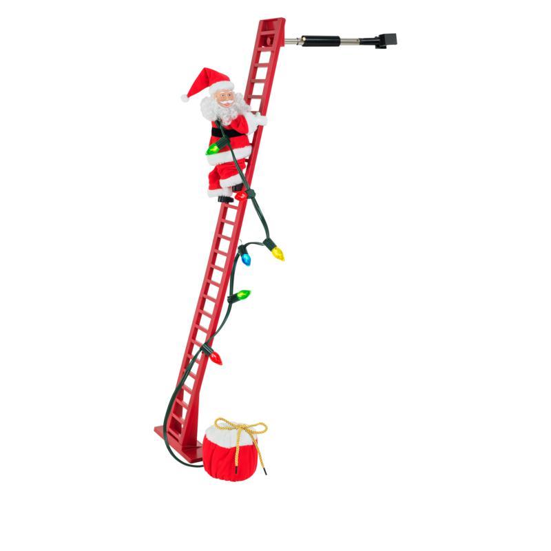 Mr. Christmas Super Climbing Musical Santa with LED Lights