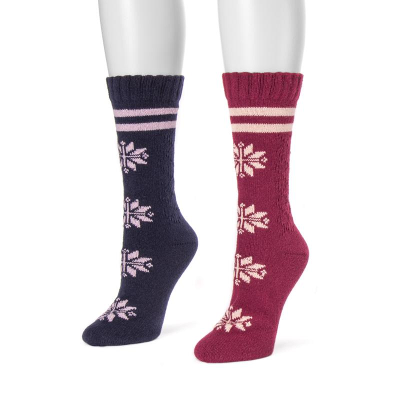 MUK LUKS Women's 2-pack Boot Socks