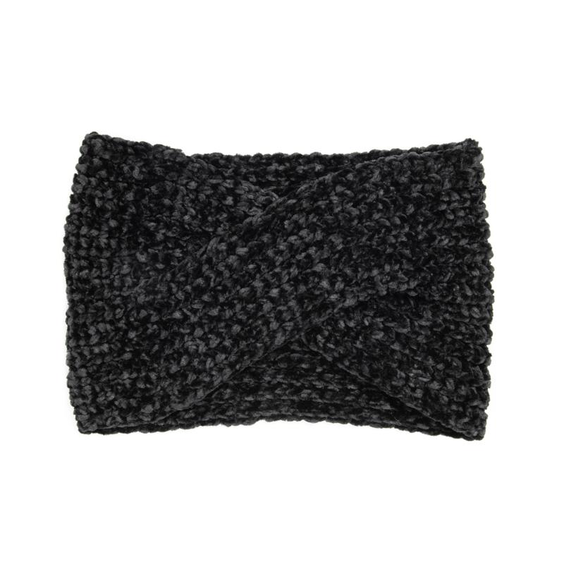 MUK LUKS Women's Chenille Twist Headband