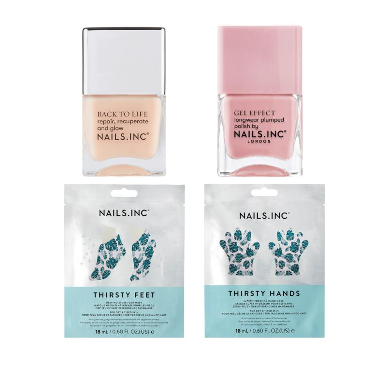 Nails INC 4-piece Thirsty Hands and Feet Set