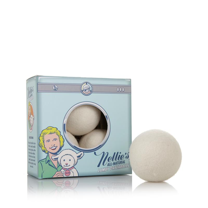 Nellie's All-Natural Lamby Dryerballs - 4-pack