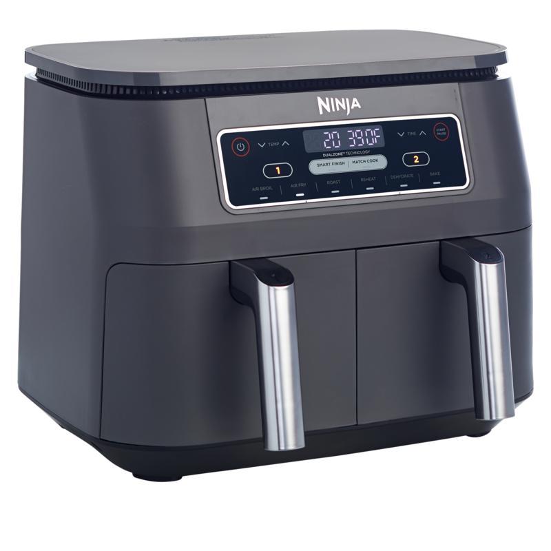 Ninja Foodi 6-in-1  8-Quart DualZone Air Fryer with Broil Rack