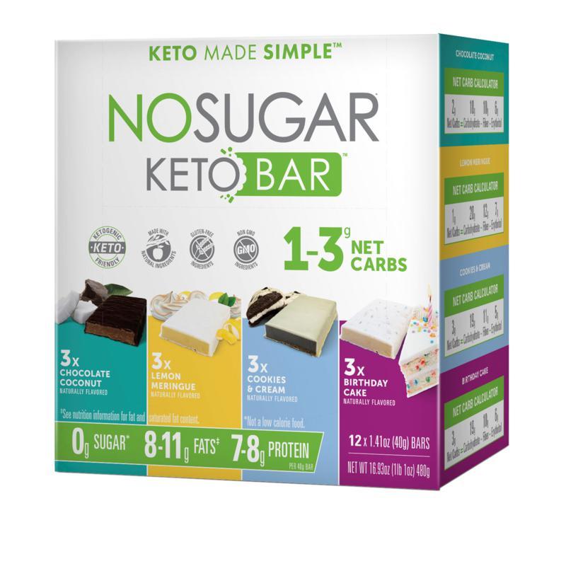 No Sugar Keto Bars Variety Pack 2 Auto-Ship®