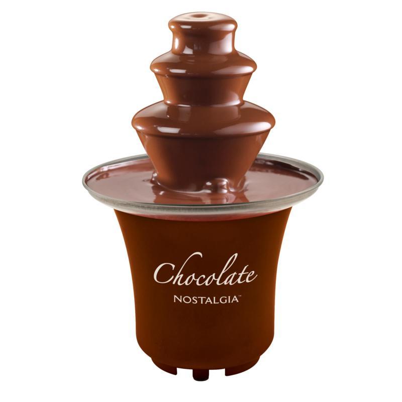 Nostalgia 3-Tier .5-Pound Chocolate Fondue Fountain