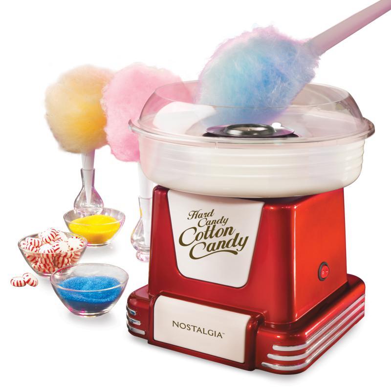 Nostalgia Retro Hard and Sugar-Free Candy Cotton Candy Maker