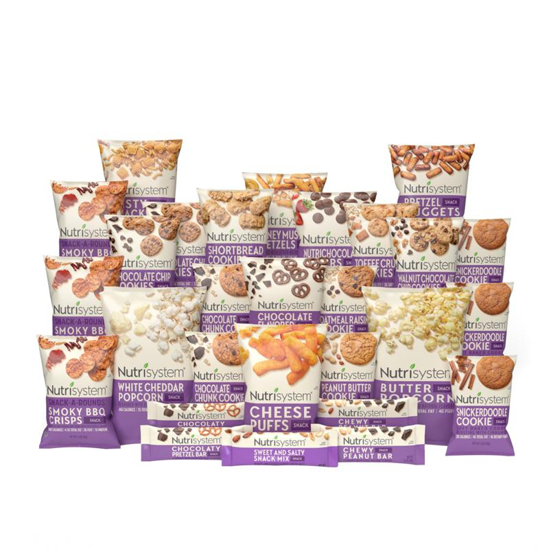 Nutrisystem 28 Days of Sweet and Salty Snacks
