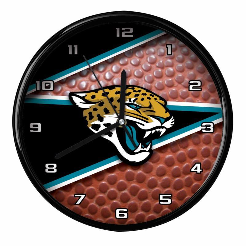 Officially Licensed Jacksonville Jaguars Team Football Clock