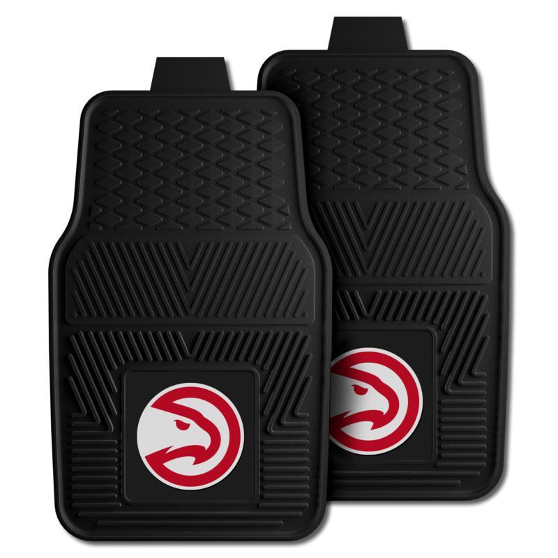 "Officially Licensed NBA 2pc Car Mat Set 17"" x 27"" - Atlanta Hawks"