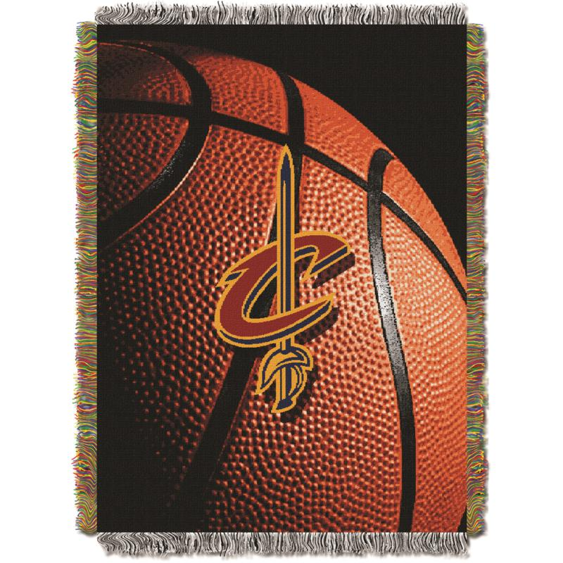 """Officially Licensed NBA """"Photo Real"""" Woven Tapestry Throw - Cavaliers"""