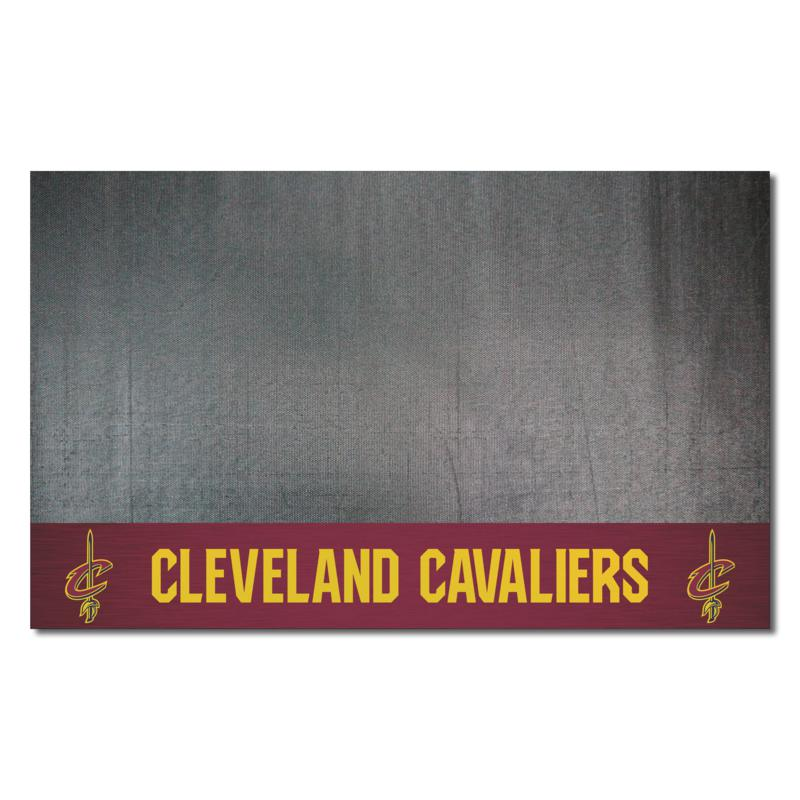Officially Licensed NBA Vinyl Grill Mat  - Cleveland Cavaliers