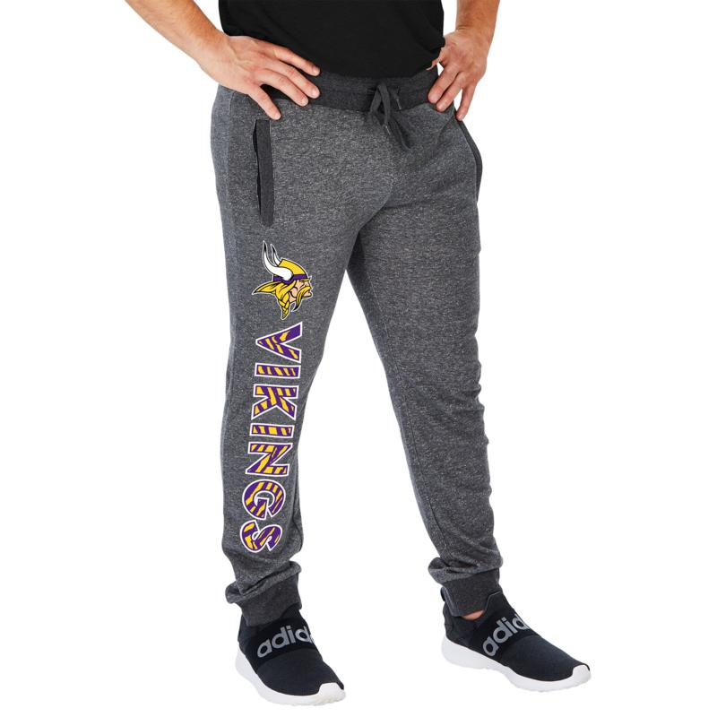 Officially Licensed NFL Men's French Terry Jogger by Zubaz