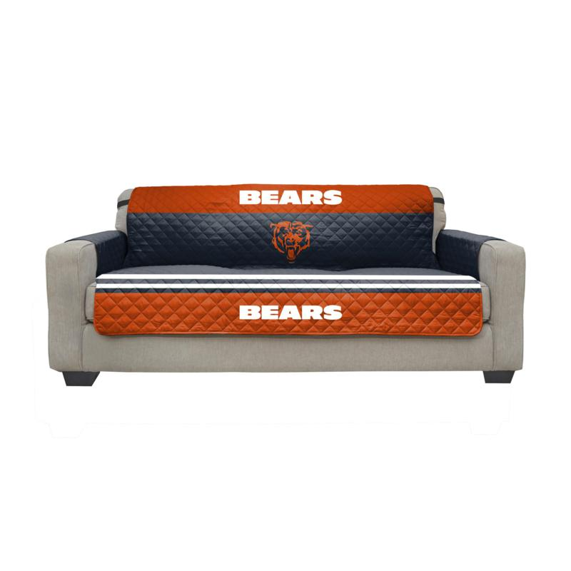 Officially Licensed Nfl Sofa Cover, Chicago Bears Furniture