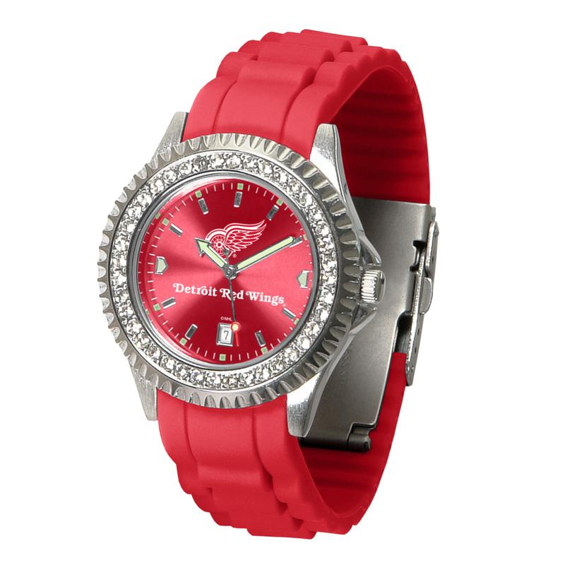 Officially Licensed NHL Sparkle Series Watch - Detroit Red Wings