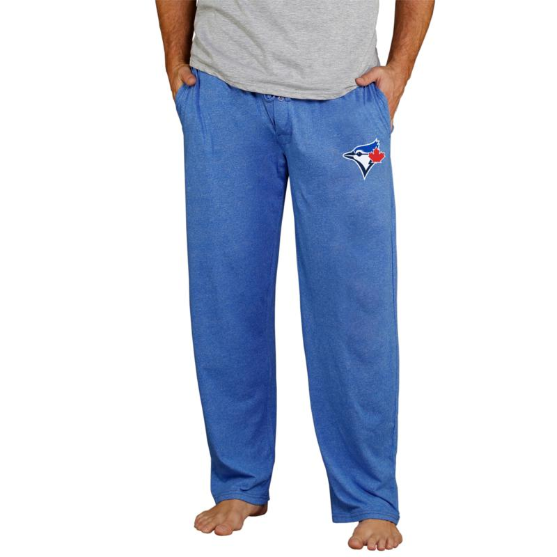 Officially Licensed Quest Men's Knit Pant by Concepts Sport-Blue Jays