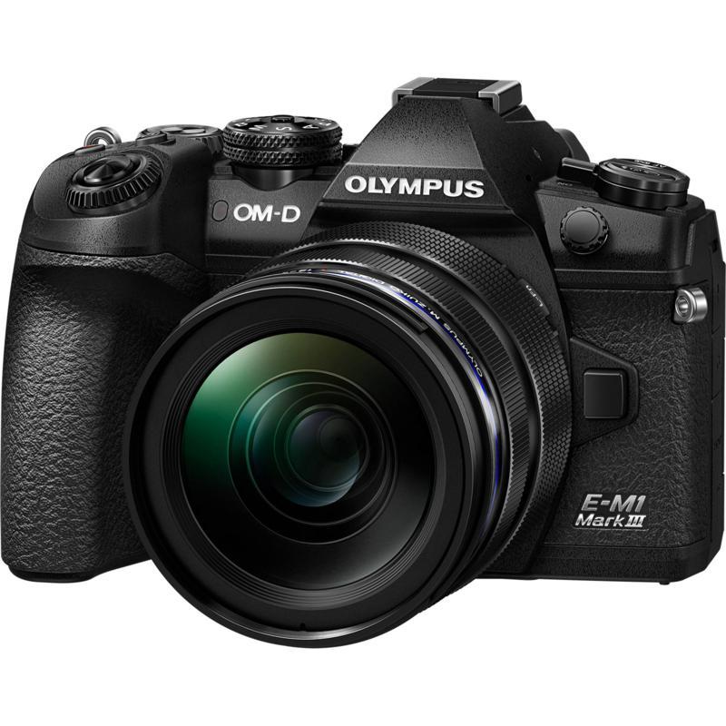 Olympus OM-D E-M1 Mark III Digital Camera with 12-40mm Lens