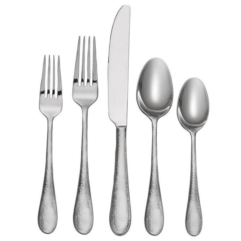 Oneida Madison Avenue 45-Piece Everyday Flatware Set, Service for 8