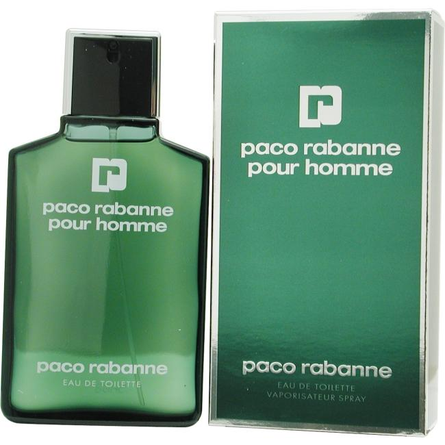 Paco Rabanne by Paco Rabanne EDT for Men - 3.4 oz.