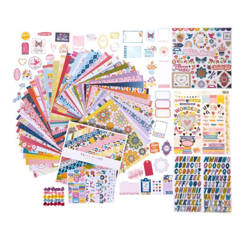Paige Evans Wonders Paper Crafting Kit