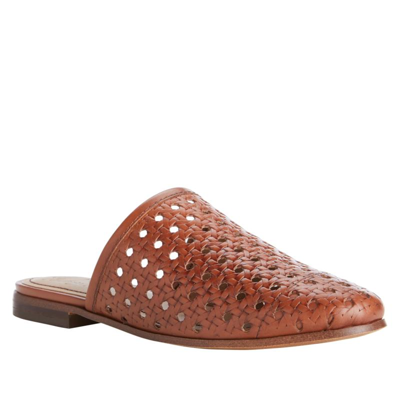 Patricia Nash Flavia Perforated Leather Slide