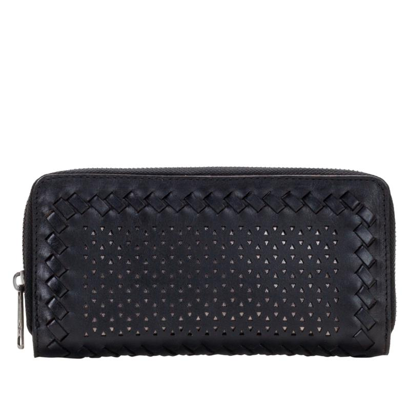 Patricia Nash Lauria Laser-Cut Leather Wallet with RFID  Technology