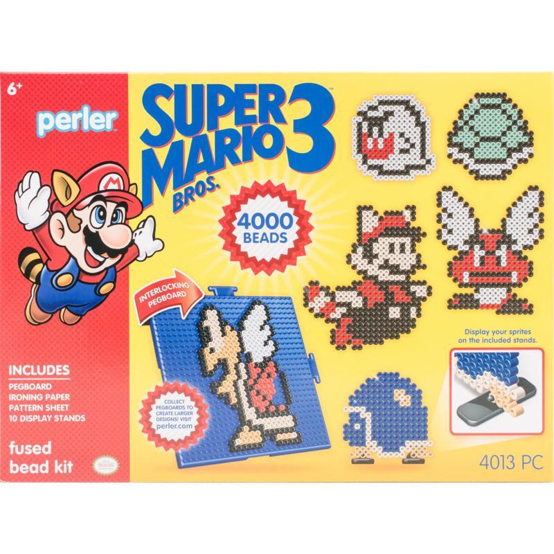 Perler Deluxe Fused Bead Kit - Super Mario Bros. 3