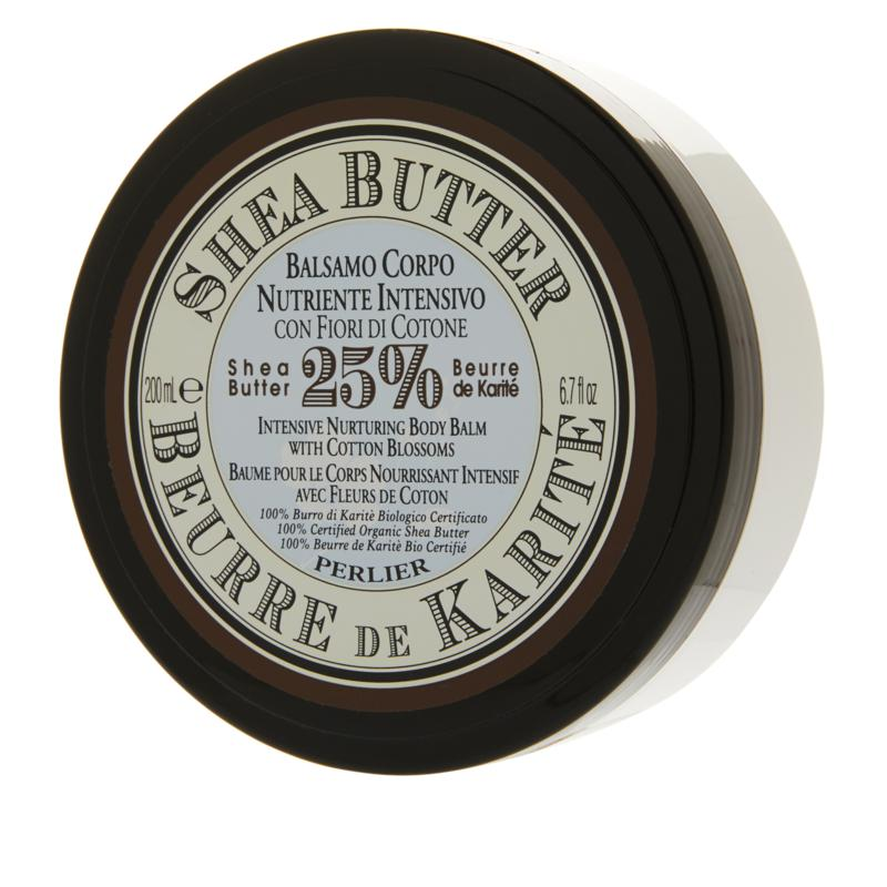 Perlier Shea Butter & Cotton Blossom Body Balm - 6.7 fl. oz.