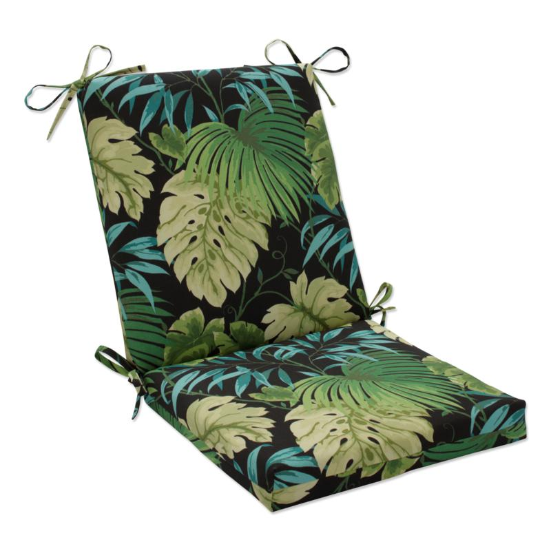 Pillow Perfect Reversible Square Chair Cushion