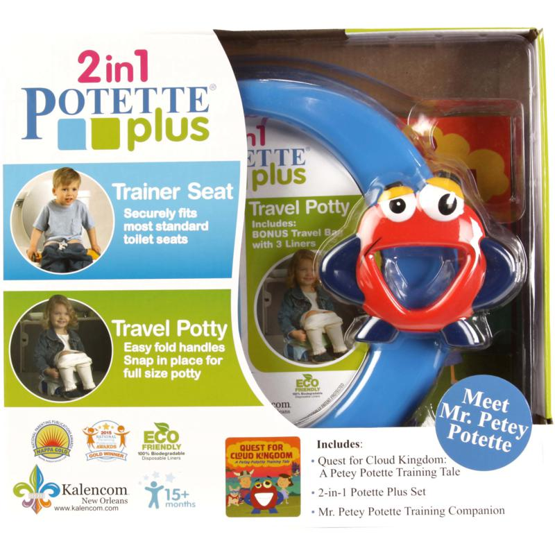 Potette by Kalencom Mr. Petey 2-in-1 Potette Plus Potty Training Kit