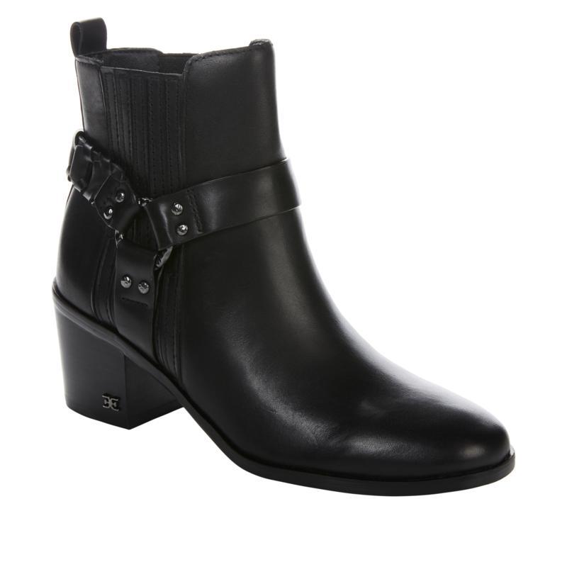 Sam Edelman Dalma Leather High-Heel Bootie