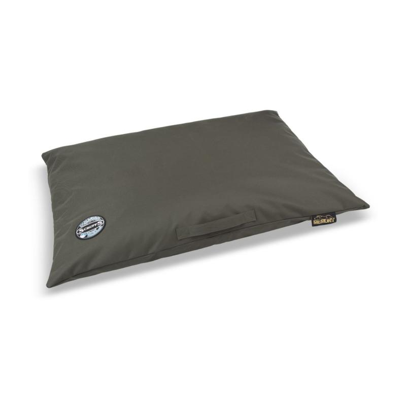 Scruffs Expedition Memory Foam Pillow Pet Bed Large - Olive