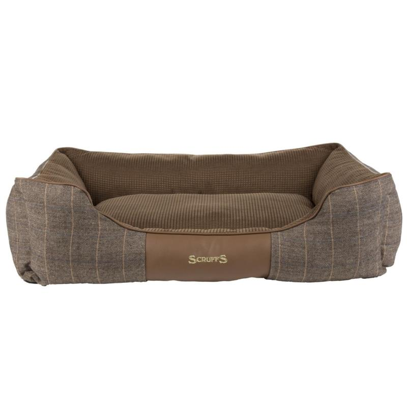 Scruffs Windsor Box Dog Bed (Small) - Chestnut