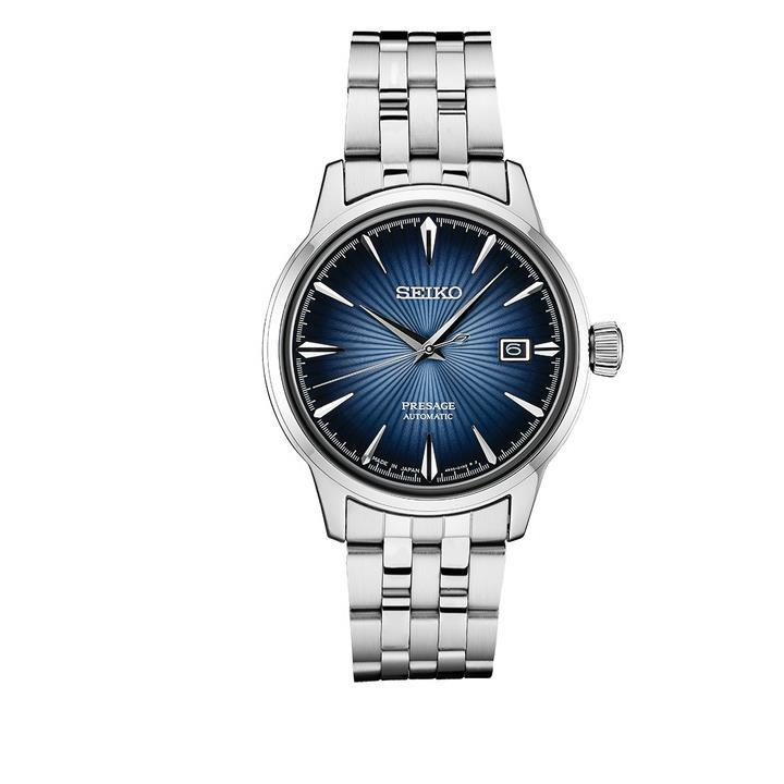 Seiko Men's Presage Cocktail Time Blue Dial Automatic Watch