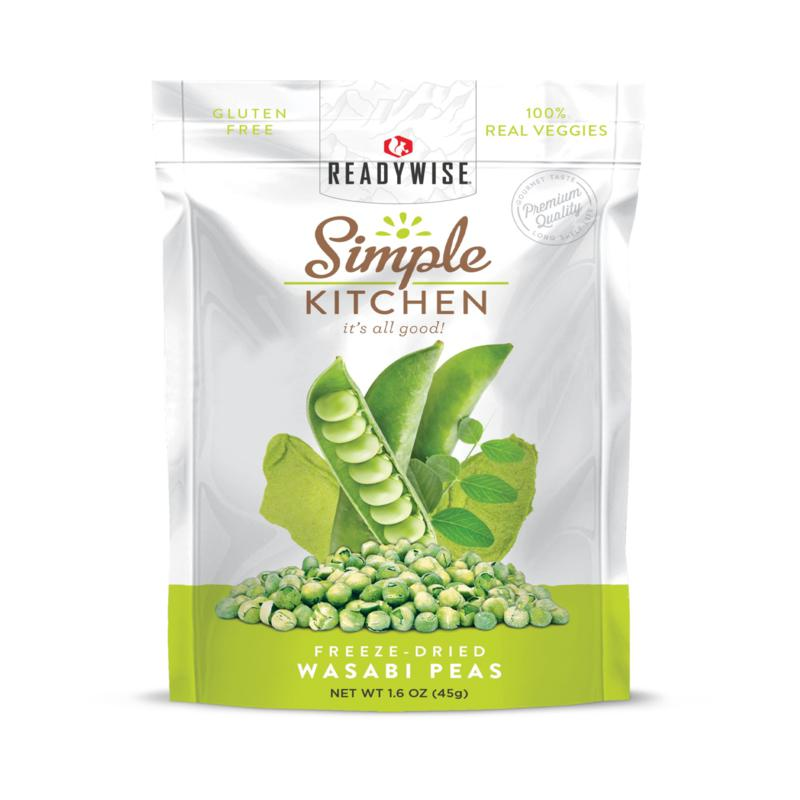 Simple Kitchen Wasabi Peas 6-pack