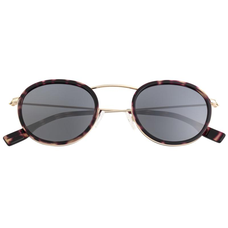 Simplify Jones Polarized Sunglasses with Gold Frames and Black Lenses