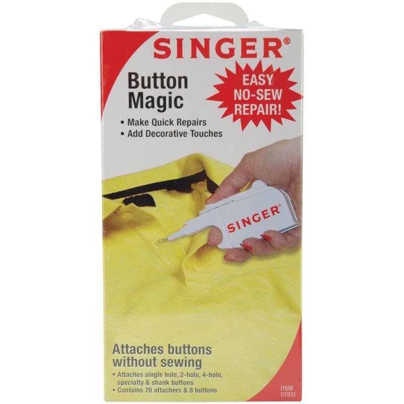 Singer Button Magic No-Sew Repair